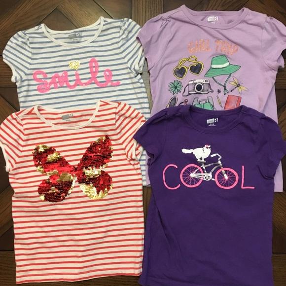 18129ee64 Crazy 8 Shirts & Tops   Lot Of Girls Small 56 Girls Tees   Poshmark
